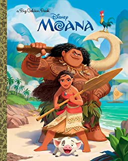 Moana Big Golden Book (Disney Moana)