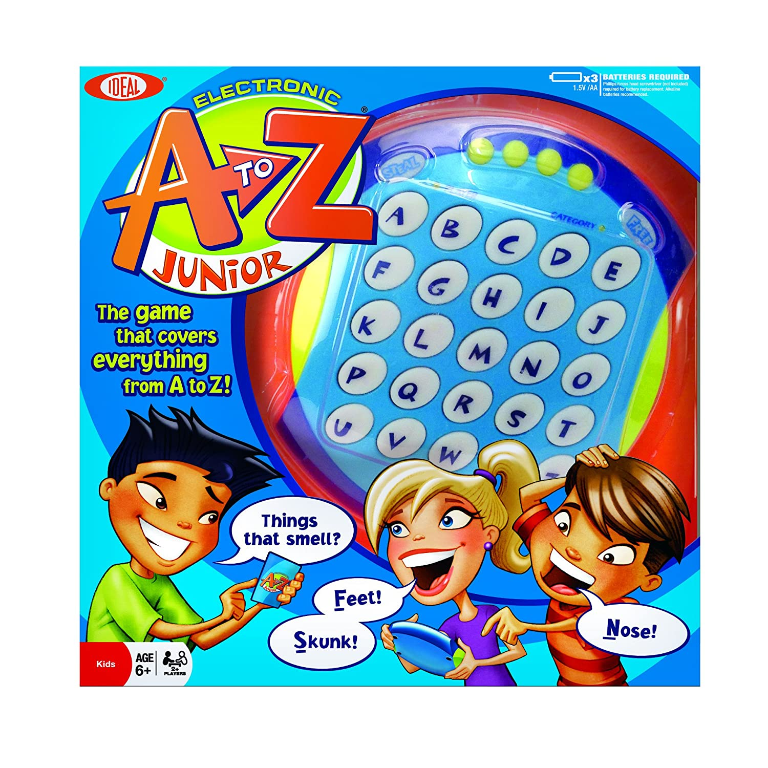 Amazon Com Ideal Electronic A To Z Junior Toys Games
