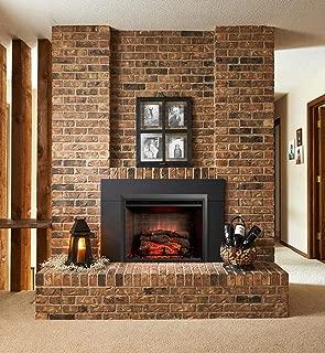 GreatCo Gallery Zero Series Insert Electric Fireplace (GI-32-ZC-IS-36-ZC), 36-Inch Surround