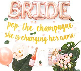 pop the champagne she's changing her name
