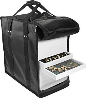 SE JT915TCB Carrying Case for Jewelry Tray Displays