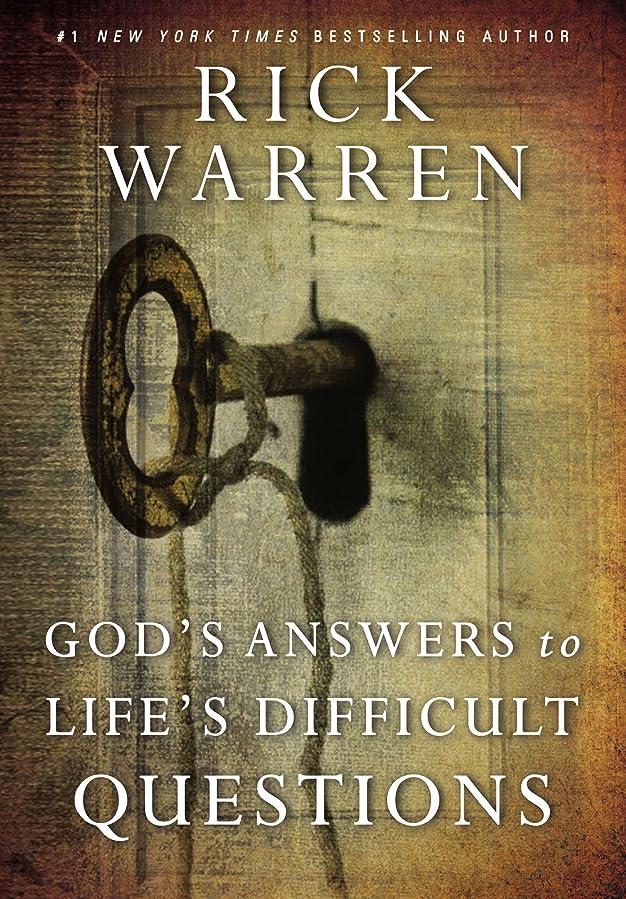 極めて重要な風邪をひく保守的God's Answers to Life's Difficult Questions (Living with Purpose) (English Edition)