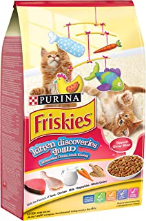 Purina Friskies 12373677 iskies Kitten Discovery Cat Food 1.1kg(Pack of 1)