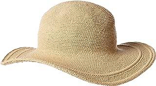 Women's Cotton Crochet 4 Inch Brim Floppy Hat