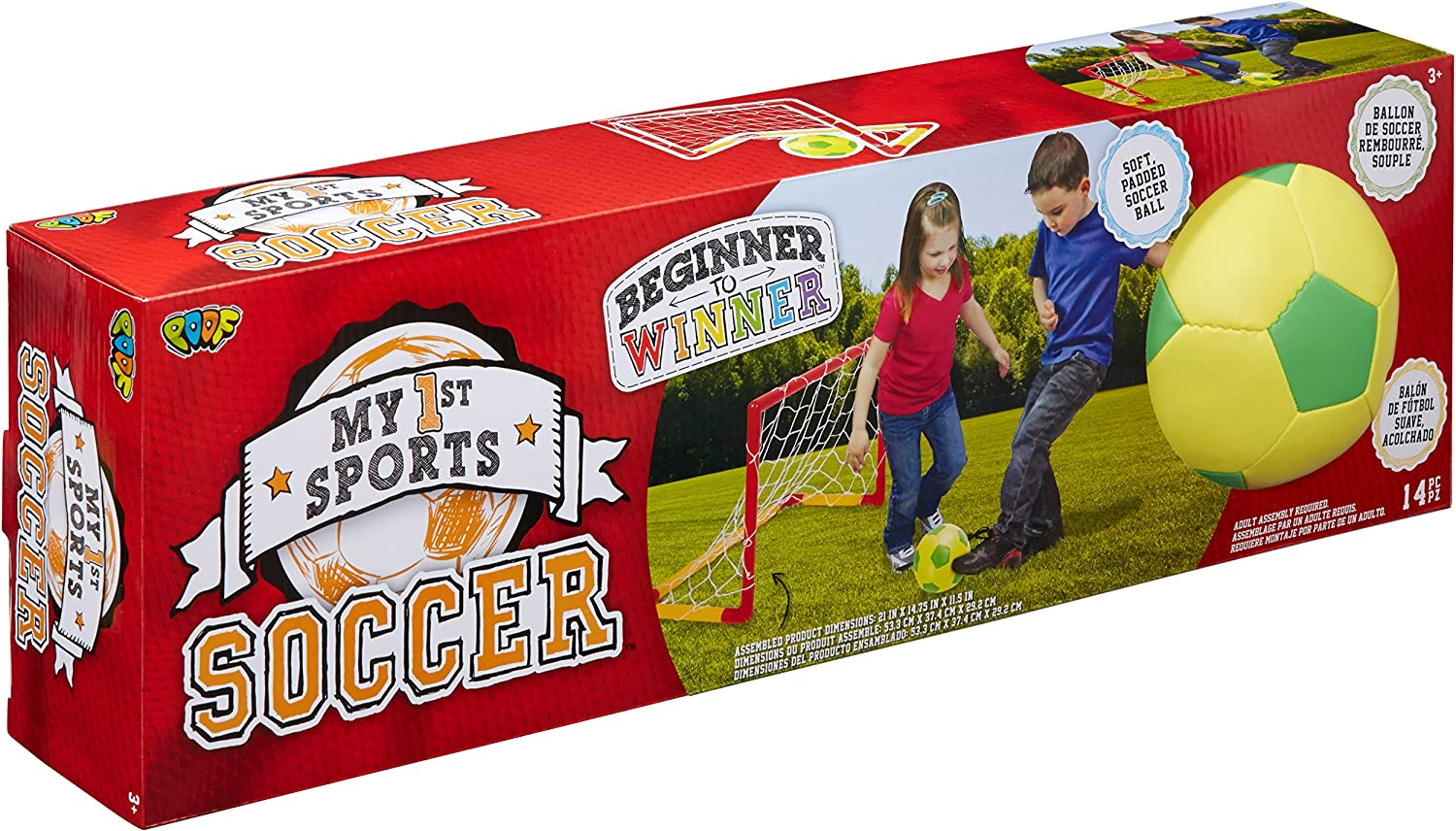 Poof My 1st Sports Soccer Set