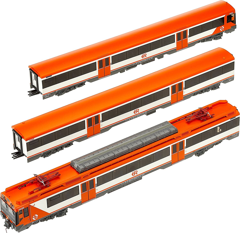 Electrotren E3613D Elektrotriebwagen Reihe 470 der RENFE Regionai Digital Modellbahn, Silber Orange