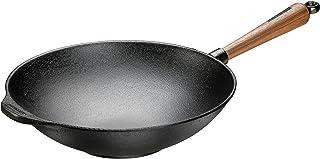 SKEPPSHULT Cast Iron - Sartén wok (32 cm)