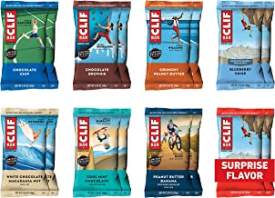 CLIF BAR – Energy Bars – Best Sellers Variety Pack – (2.4 Ounce Protein..