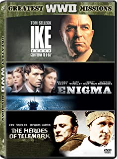 Greatest WWII Missions Ike: Countdown to D-Day / Enigma / The Heroes of Telemark