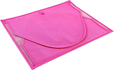 My Gift Booth Nylon Saree Cover, Pink, 43 cm x 31 cm x 15 cm, MGBNEW 486