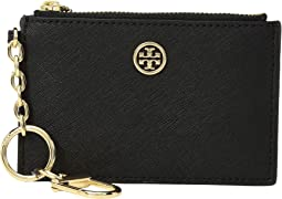 Tory Burch - Robinson Card Case Key Fob