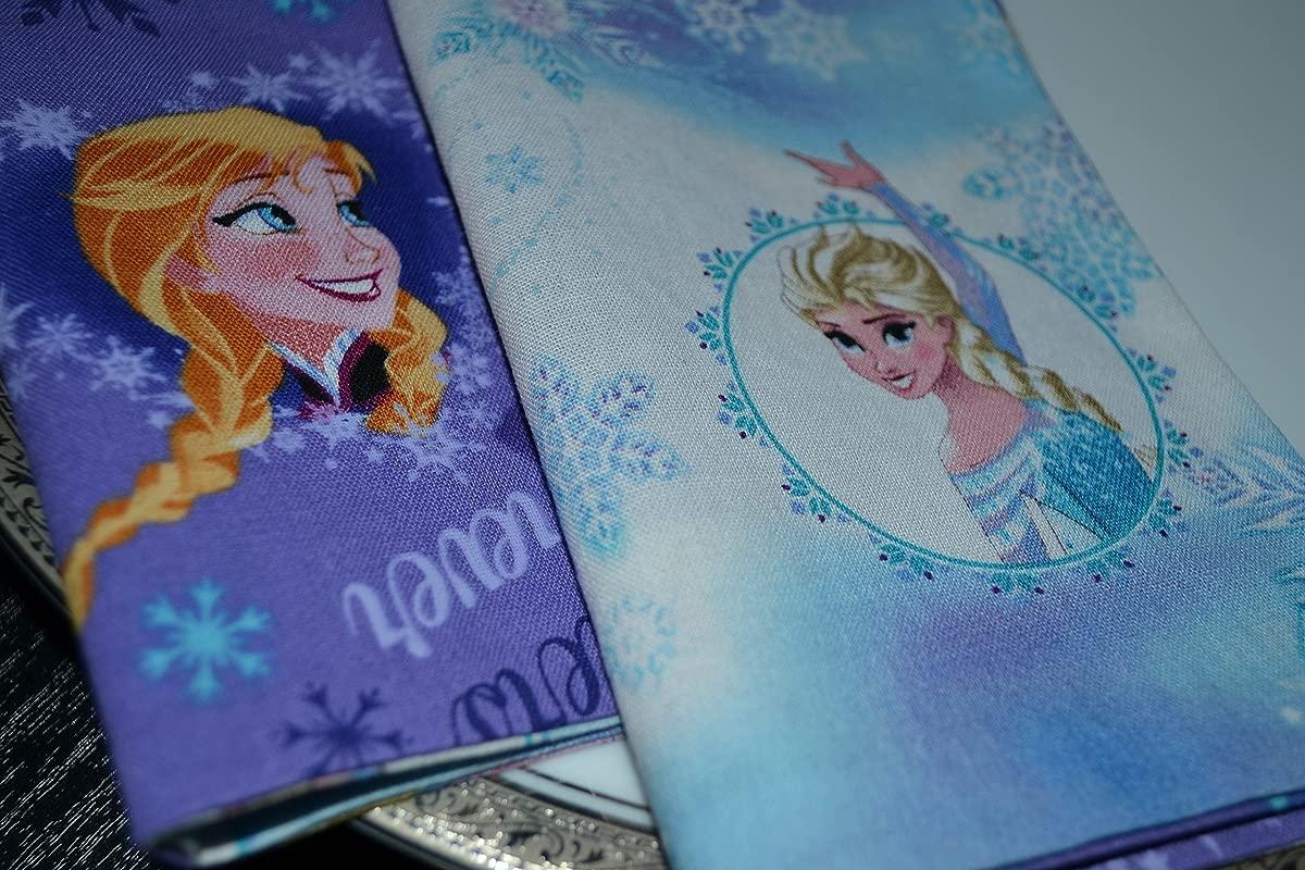 Frozen Sisters Reversible Cloth Napkins Set Of 4