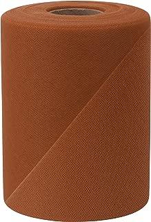 Falk Fabrics Tulle Spool, 6-Inch by 100-Yard, Copper