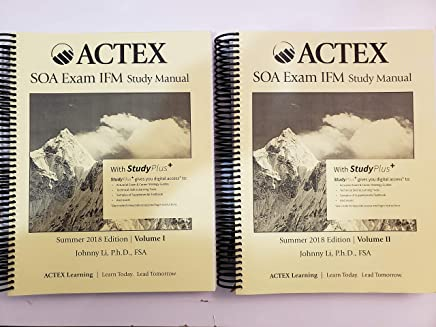 Amazon com: Manual For Soa Exam: Books