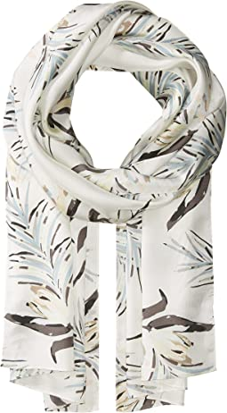 Echo Design - Palm Leaf Silk Oblong