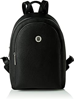 Tommy Hilfiger TH Core Backpack, Mochila Mujer, Negro, OS