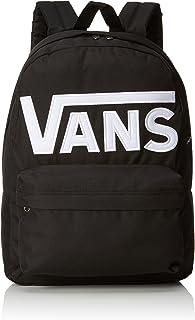 comprar comparacion Vans Old Skool II - Mochila Casual, Unisex, Negro (Black/White), 22 litros, 42 cm