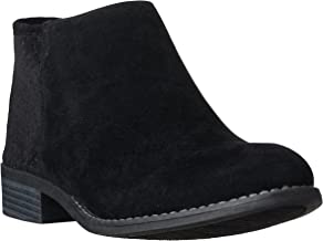 Riverberry Women's JENA Cut Out Style, Low Heel Ankle Bootie Boots