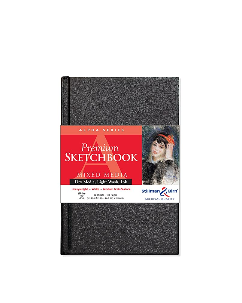 Stillman & Birn Alpha Series Hardbound Sketchbook, 5.5