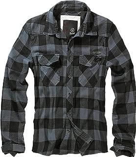 Brandit Check Shirt, Camisa de algodón, Camisa de Franela,