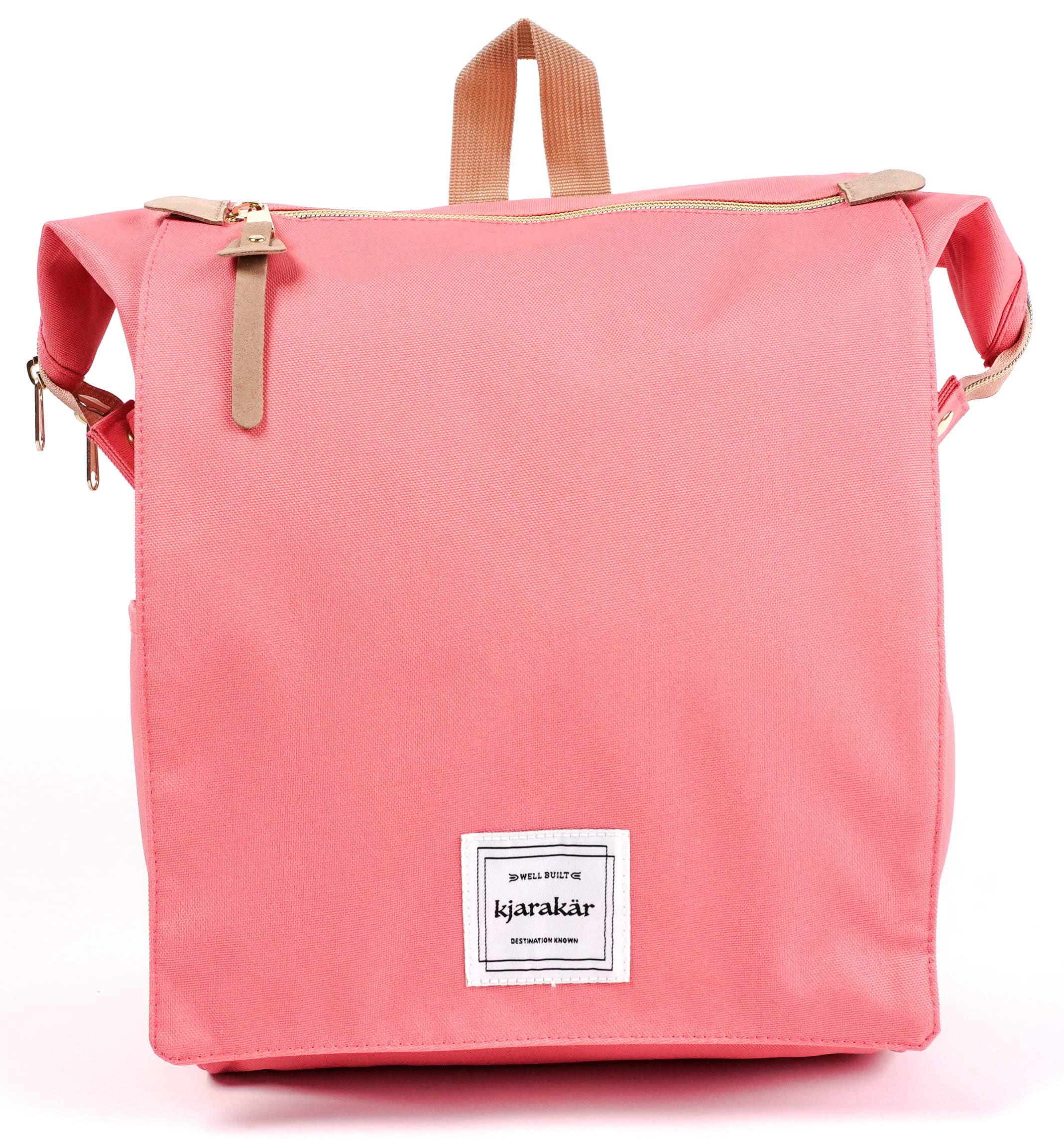 KJARAKÄR 女装*佳礼物,女孩。 通勤包、学校和笔记本电脑书包、笔记本电脑包、完美尿布包! TSA Friendly - 防水