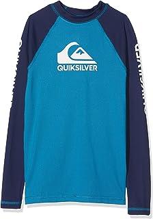 Quiksilver 男孩 On Tour L/sl 冲浪 T 恤