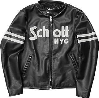 Schott #3181053 カフェレーサー ベーシックロゴ レザージャケット
