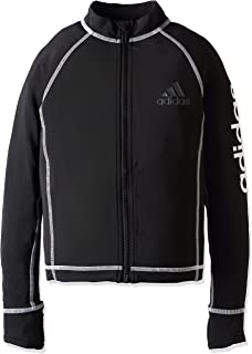 (アディダス)adidas スイミングウェア ラッシュガード 長袖ジャケット MBY49 [ジュニア]