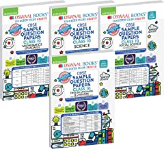 Oswaal CBSE SAMPLE QUESTION PAPERS CLASS 10 (Set of 4 Books) Mathematics (Standard), Science, Social Science, English (Red...