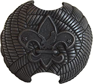 Deseret Deals Boy Scout Neckerchief Slide - Metal Kerchief Woggle