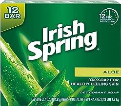 Irish Spring Aloe Vera Bar Soap - 72 count