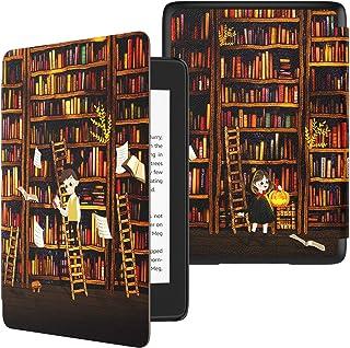 TiMOVO Funda para Kindle Paperwhite(10th Gen 2018 Release) Funda de SmartShell Delgada y Ligera de Cuero PU con Auto Sue...