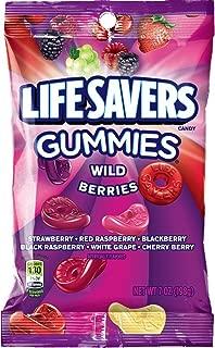 Life Savers Wild Berries Gummies Candy Bag, 7 ounce (12 Packs)