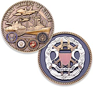 Joint Chiefs of Staff Challenge Coin - JCOS Military Coin - Amazing 1.75