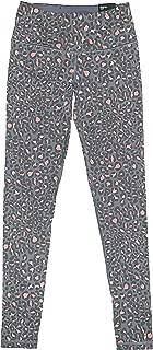 Victoria's Secret Knockout Drawstring Waist Yoga Fitness Sport Tight Leggings XSmall Animal Print Grey