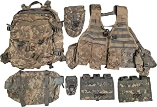 Military Outdoor Clothing Previous Issued ACU MOLLE Rifleman's Set