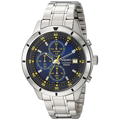ca6f73691 Seiko Men's Quartz Stainless Steel Casual Watch, Color:Silver-Toned (Model: