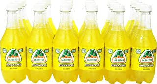 Jarritos Drink, Pineapple, 16.9 Ounce (Pack of 24)