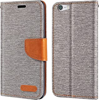 ZTE Blade V770 fodral, Oxford läder plånboksfodral med mjuk TPU baksida skydd magnet flip fodral för ZTE Blade V770
