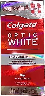 (コルゲート)Colgate 歯磨き粉 「オプティック ホワイト 」 (スパークリングホワイト) 2本セット