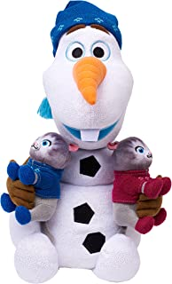 Just Play Disney Frozen Snuggle N Sing Olaf Feature Plush