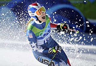 Lindsey Vonn Sports Poster Photo Limited Print Celebrity USA Olympic Alpine Skiing Athlete Size 24x36 #1