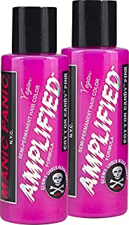 Manic Panic Cotton Candy Pink Amplified (2 Pack)