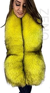 Arctic Fox Fur Collar 40/' Tails As Wristbands Stole Saga Furs