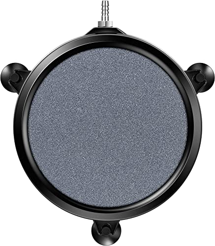 lowest VIVOSUN 8 Inch Air Stone outlet online sale Disc with online sale Shell and Sucker for Hydroponics Aquarium Tank Pump online sale