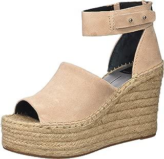 Women's Straw Wedge Sandal