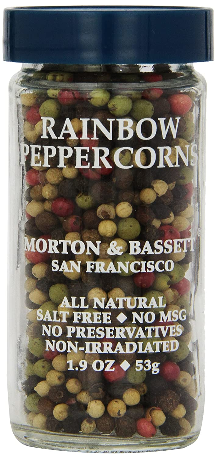 Morton Basset All items in the store Spices Rainbow Shipping included 1.9 Ounce Peppercorns