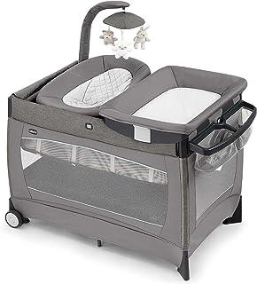 Chicco Lullaby Playard Portable Baby Playpen Bassinet, Changer, & Crib Play Yard
