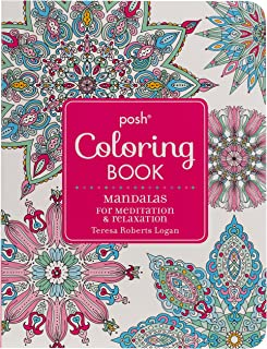 Posh Adult Coloring Book: Mandalas for Meditation & Relaxation