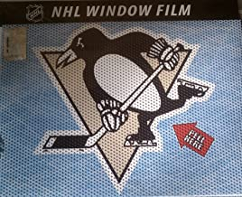 NHL Pittsburgh Penguins Window Film, One Size, Multicolor